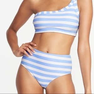 1e37a74ff3 NWT Old Navy Blue Striped Bathing Suit